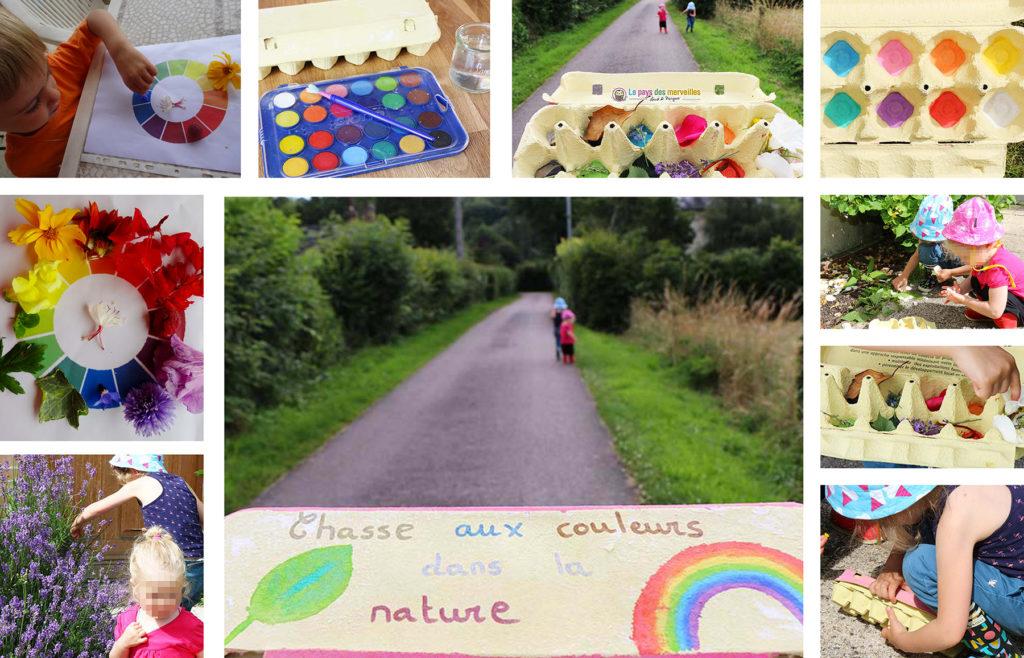 La chasse aux couleurs pour sensibiliser les tout-petits à la permaculture