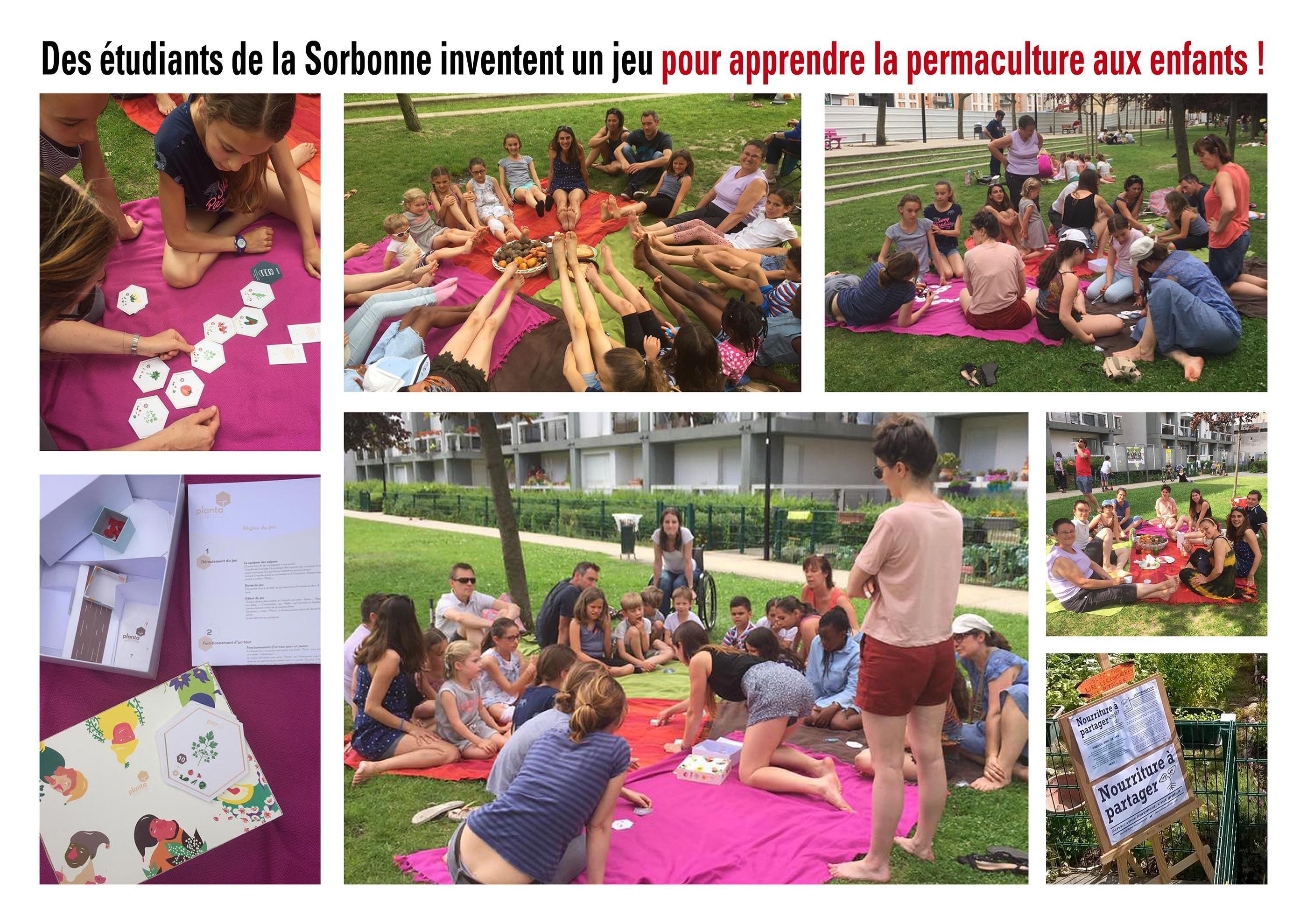Des tudiants de la sorbonne inventent un jeu sur la permaculture universit francophone de l - Cuisine darty modele sorbonne ...
